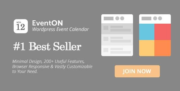 EventOn v2.4.4 – Responsive WordPress Event Calendar Plugin