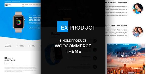 ExProduct v1.0.7 – Single Product WooCommerce Theme