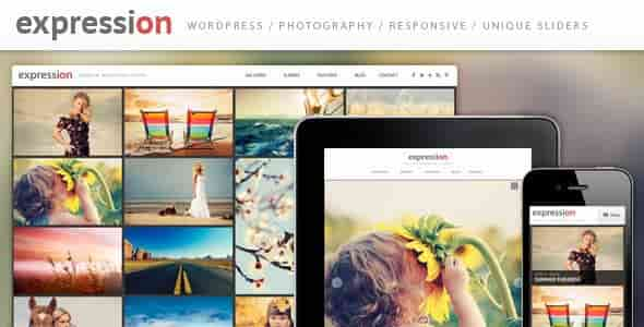 Download – Expression Photography Responsive WordPress Theme