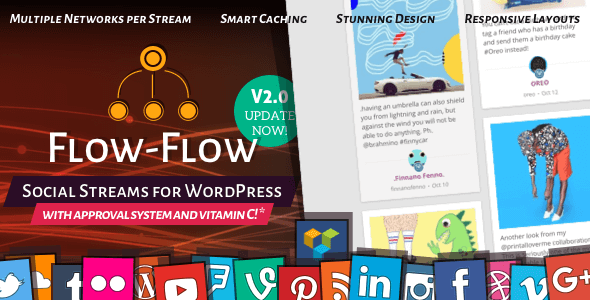 Flow-Flow v2.2.3 – WordPress Social Stream Plugin