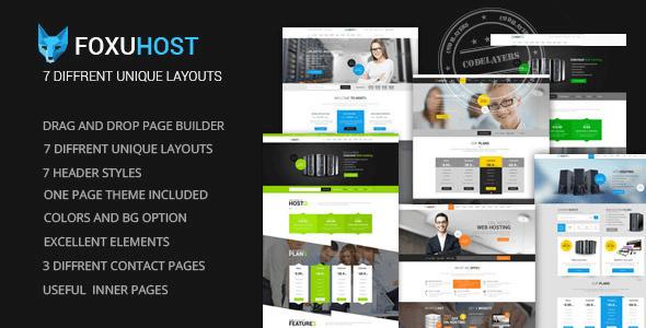 FoxuhHost v1.0.1 – Shop, Corporate & Hosting WP Theme + WHMCS