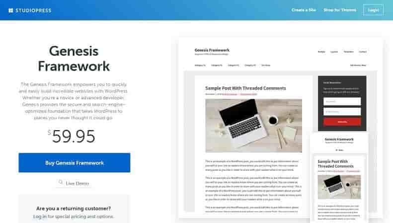 ownload – Genesis Framework v2.5.0