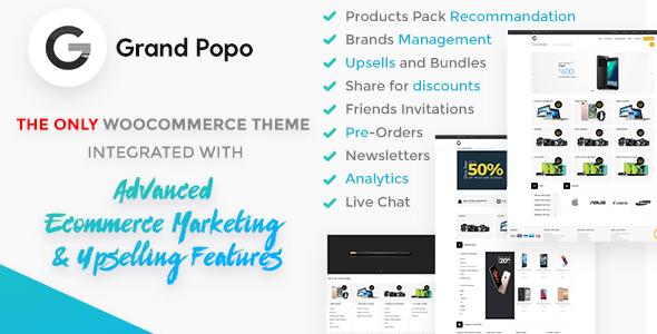Grand Popo v2.3.1 – Advanced Marketing E-Commerce Theme
