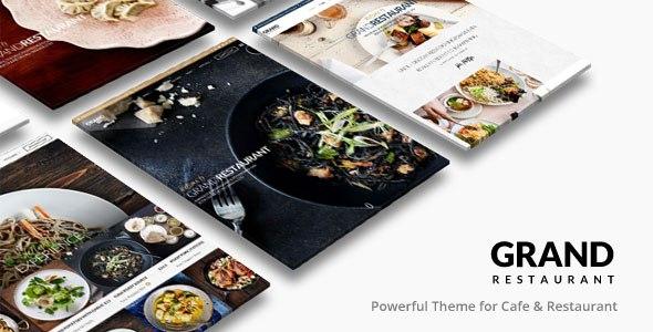 Grand Restaurant v1.6.2 – Restaurant Cafe WordPress Theme