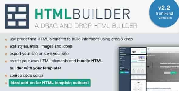 HTML Builder v2.28 – A Drag and Drop HTML Builder