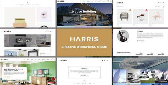 Harris v1.0 – Responsive Creative WordPress Theme