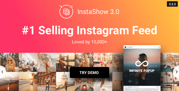 InstaShow v3.2.2 – Instagram Feed Plugin for WordPress