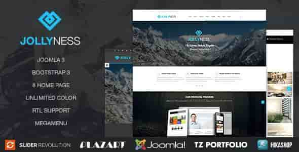 Download – Jollyness v1.2 – Business Joomla Template