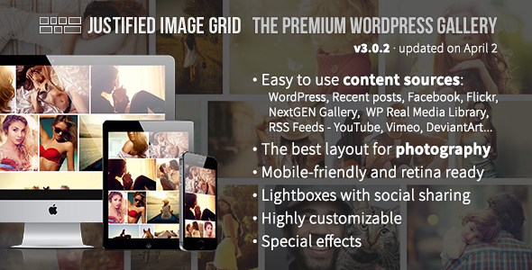Justified Image Grid v3.0.2 – Premium WordPress Gallery Plugin