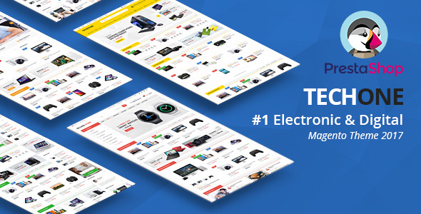 TECHONE V1.0.5 - MULTIPURPOSE PRESTASHOP 1.7 THEME