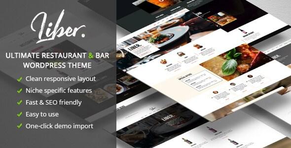 Liber v1.1.4 – Ultimate Restaurant & Bar WordPress Theme