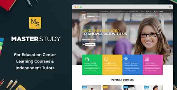 Masterstudy v1.4.4 Education Center WordPress Theme