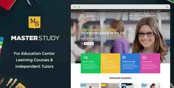 Masterstudy v1.4.3 – Education Center WordPress Theme