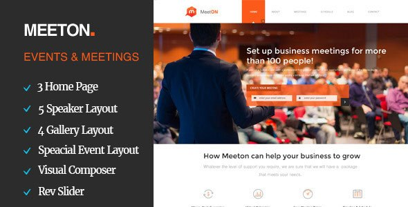 Download – Meeton – Conference & Event WordPress Theme