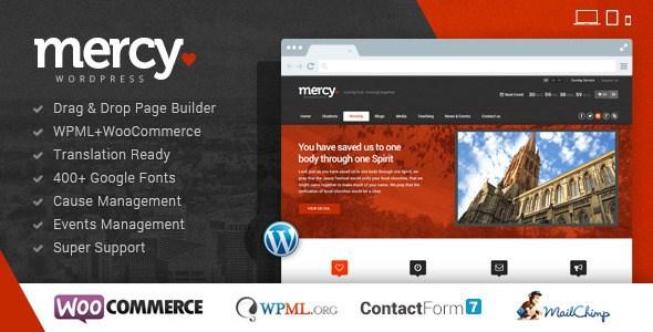 Mercy-NGO v2.0 – Charity & Environmental/Political Theme