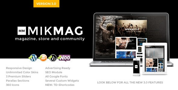 MikMag v3.4.2 Buddypress and Woocommerce WP Theme