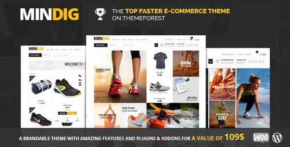Mindig v1.6.5 – Flat & Multipurpose eCommerce WordPress Theme