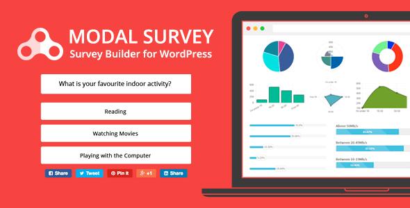 Modal Survey v1.8.7 – WordPress Poll, Survey & Quiz Plugin