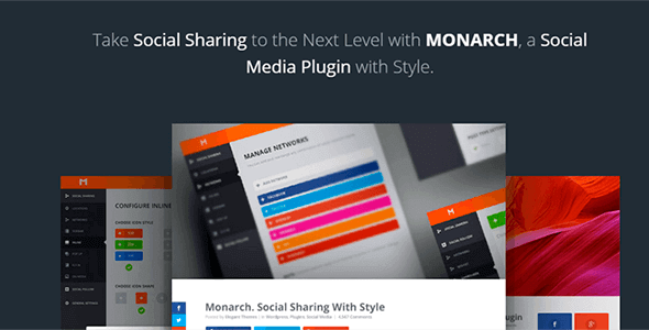 Monarch v1.2.7.1 – A Better Social Sharing WordPress Plugin