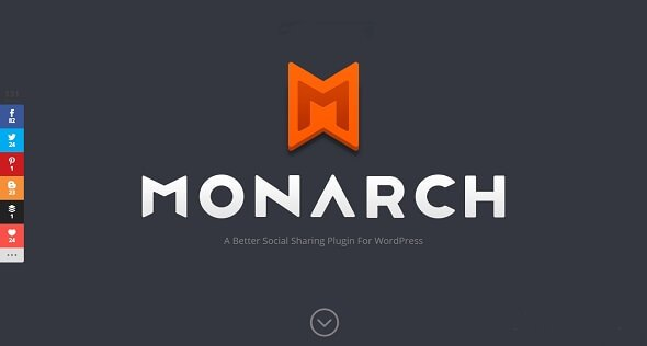 Monarch v1.3.26 – A Better WordPress Social Sharing Plugin