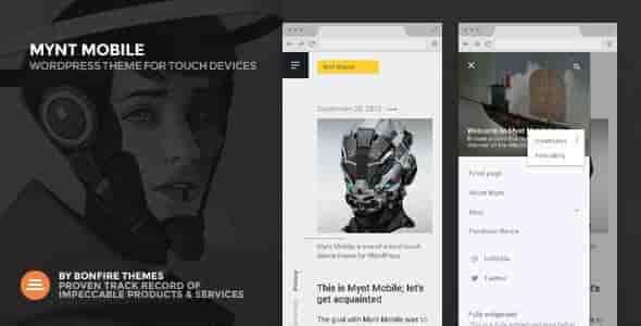 Mynt Mobile – Super Fast Mobile WordPress Theme