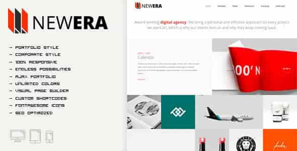 NEWERA v2.1.0 – Smart Portfolio & Business WordPress Theme