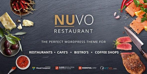NUVO v5.5.8 – Cafe & Restaurant WordPress Theme