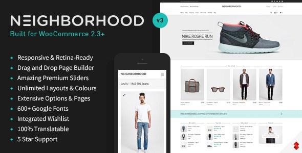 Neighborhood v3.4.75 – Multi-Purpose WordPress Shop Theme