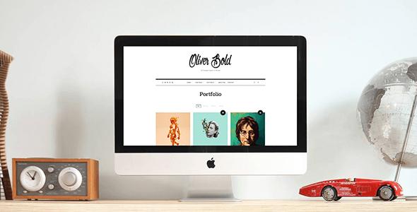 Oliver v1.0.3 – Classic & Minimal Portfolio WordPress Theme