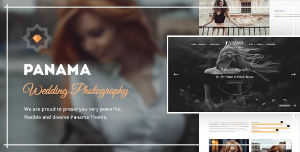 Panama v1.9.4 – Wedding Photography WordPress Theme