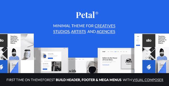 Petal v1.2.0 – Creative Portfolio WordPress Theme for Freelancer