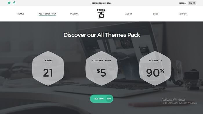 Download – Press75 All WordPress Themes Pack