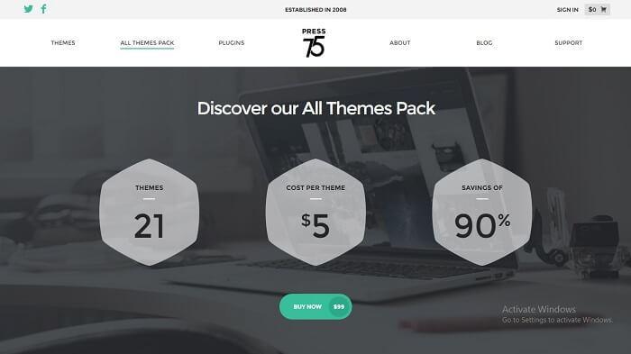 Download – Press75 All WordPress Themes Pack
