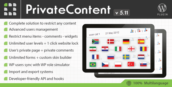 Download – PrivateContent v5.11 Multilevel Content Plugin
