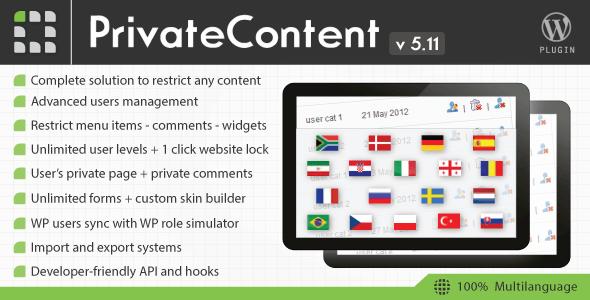 Download – PrivateContent v5.11 Multilevel Content Plugin