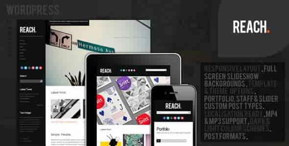 Reach v3.6 – Responsive Business Portfolio WordPress Theme