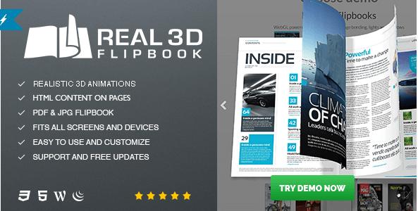 Real3D FlipBook v3.4.9 – Best FlipBook WordPress Plugin