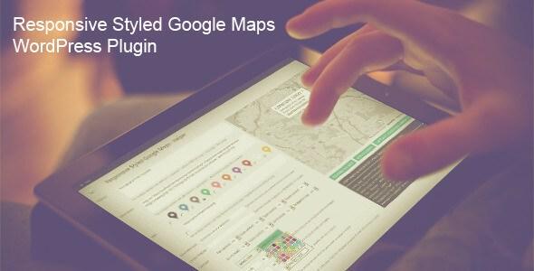Google Maps v3.2 – Responsive Styled WordPress Plugin