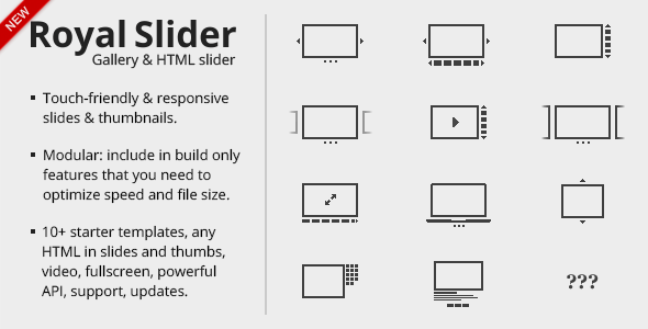 RoyalSlider v9.4.92 – Touch-Enabled jQuery Image Gallery JavaScript