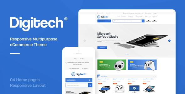 DIGITECH V1.0 - RESPONSIVE PRESTASHOP THEME