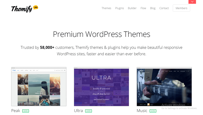 Themify All WordPress Themes Pack Updated On December 2016