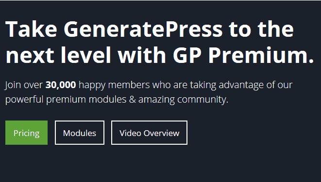 GeneratePress v1.3.34 WordPress Theme + Premium Addons