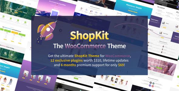 ShopKit v1.4.3 – The WooCommerce WordPress Theme