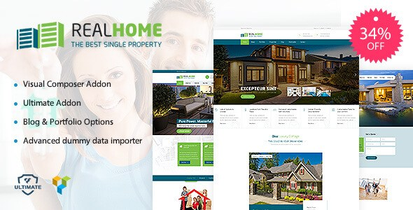 Single Property v1.2 – Responsive Real Estate WordPress Theme