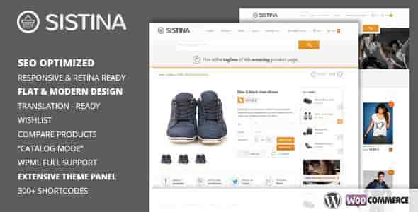 Sistina v2.1.1 – Flat Multipurpose Shop WordPress Theme