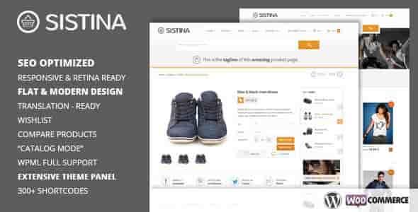 Sistina v2.1.1 – Flat Multipurpose Shop WordPress Theme