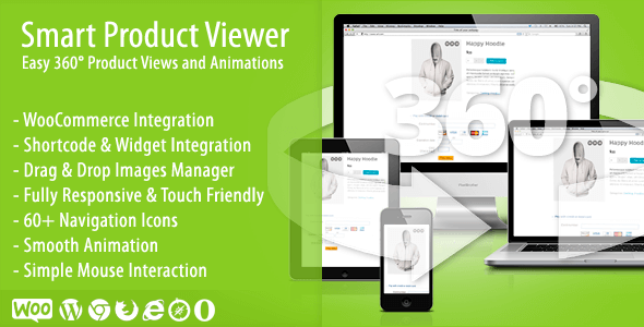 Smart Product Viewer v1.5.1 – 360º Animation WordPress Plugin