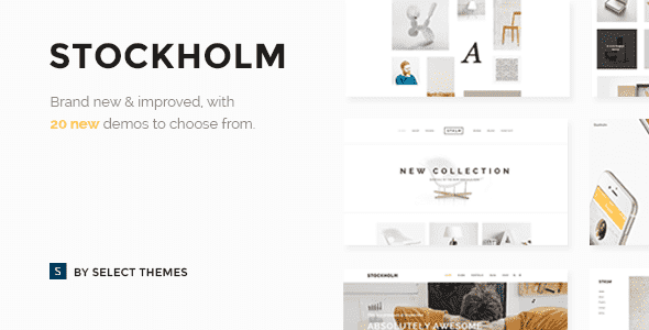 Stockholm v3.5.2 – A Genuinely Multi-Concept WordPress Theme