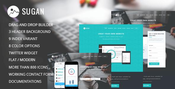 Sugan v1.0 – Mobile, Apps, Software WordPress Theme