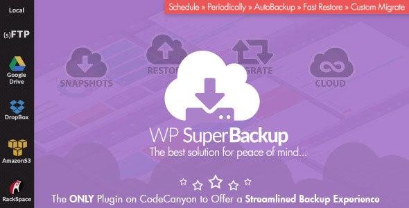 Super Backup & Clone v1.7 – Migrate for WordPress Plugin